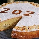 Vasilopita - the New Year's Day bread for good luck